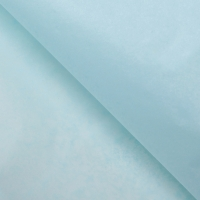 Бумага тишью бледно-голубая 1 лист