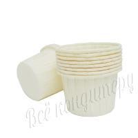 Капсула для капкейков маффин  50х40 100 шт Белые