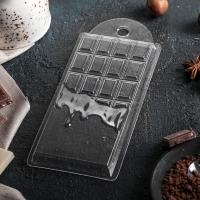 """Форма для шоколадной плитки """"Шоколад горячий"""""""