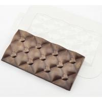 """Форма для шоколадной плитки """"Плитка сердечки"""""""