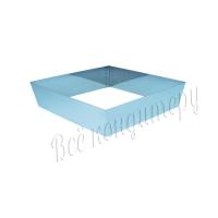 Форма для выпечки Квадрат 18х18 см, высота 10 см
