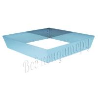 Форма для выпечки Квадрат 22х22 см, высота 10 см