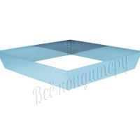 Форма для выпечки Квадрат 24х24 см, высота 10 см