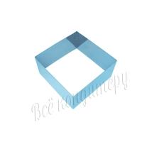 Форма для выпечки Квадрат 12х12 см, высота 6 см
