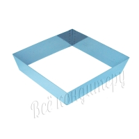 Форма для выпечки Квадрат 18х18 см, высота 6 см