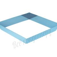 Форма для выпечки Квадрат 26х26 см, высота 6 см