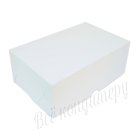 Коробка на 6 капкейков белая