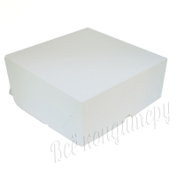 Коробка на 9 капкейков белая