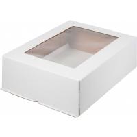 Коробка для торта 30х40х12 см с окном (торт-цифра)