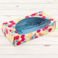 Коробка для сладостей 20х10х5 см