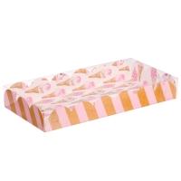 Коробка для сладостей 21х10,5х3 см