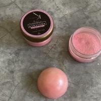 Пищевой блеск плотный Розовый Жемчуг 10 г
