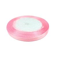 Лента атласная 0,6 см Розовая