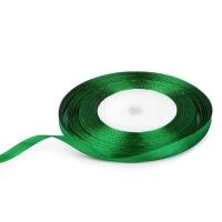 Лента атласная 0,6 см Зеленая