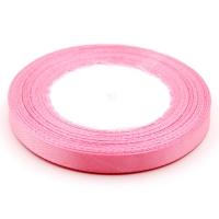 Лента атласная 1 см Розовый жемчуг