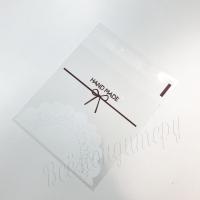 Пакеты для  упаковки сладостей 10х10+3 Hand Made 10 шт