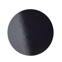 Подложка усиленная d 24 см черная/жемчуг