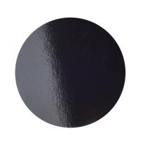 Подложка усиленная d 26 см черная/жемчуг
