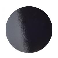 Подложка усиленная d 28 см черная/жемчуг