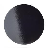 Подложка усиленная d 30 см черная/жемчуг