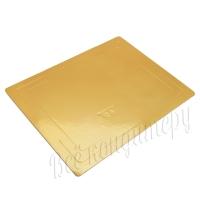 Подложка усиленная 3,2 мм 40*60 см золото/жемчуг