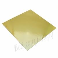 Подложка 1,5 мм 24х24 см золото/жемчуг