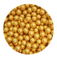 "Сахарная посыпка ""Шарики 5 мм золото"" 50 г"