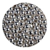 Шарики сахарные Серебро 5 мм 50 г