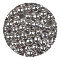 Шарики сахарные Серебро 7 мм 50 г