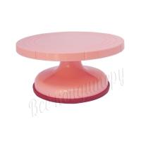 Поворотный столик 26 см Розовый