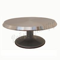 Поворотный столик металлический 30 см