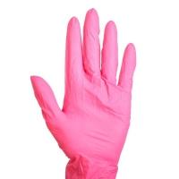 Перчатки нитриловые неопудренные 10 шт, размер - S
