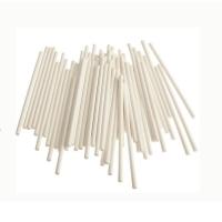 Палочки для кейкопсов белые 7,5 см 25 шт