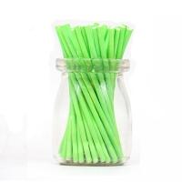 Палочки для кейкпосов 25 шт  Зеленые  10 см
