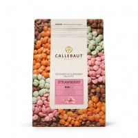 Шоколад Callebaut розовый со вкусом клубники 100 г