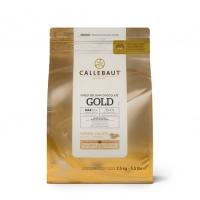 Шоколад Callebaut белый с карамелью Gold 100 г