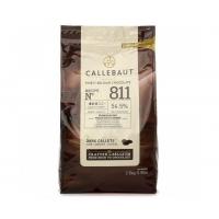 Шоколад темный (54,5%) в галетах 2,5 кг Callebaut