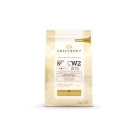 Шоколад белый в галетах 2,5 кг Callebaut