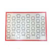 Силиконовый коврик с разметкой для макарон  42х29 см