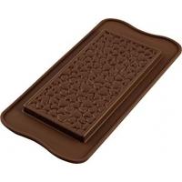 Силиконовая форма Плитка шоколада Silikomart Love choko bar
