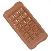 Силиконовая форма Плитка шоколада Silikomart Tablette choko bar