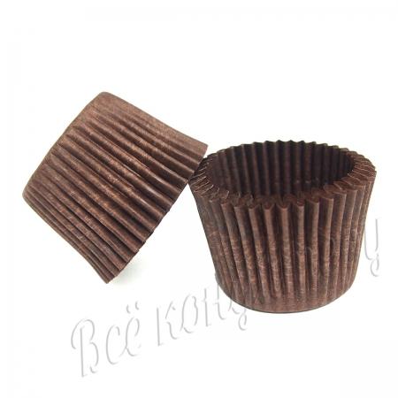 Форма бумажная коричневая 35х30 100 шт