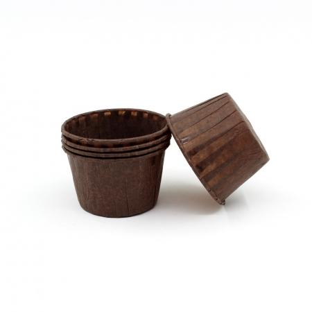 Капсула Маффин 50/40 коричневые 100 шт