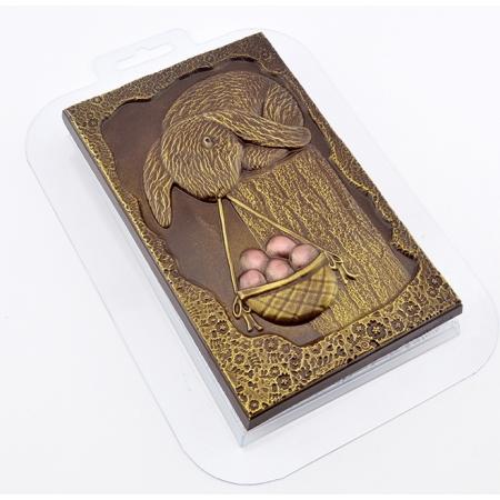 """Форма для шоколадной плитки """"Охота за яйцами"""""""
