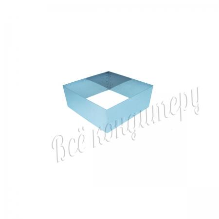 Форма для выпечки Квадрат 12х12 см, высота 10 см