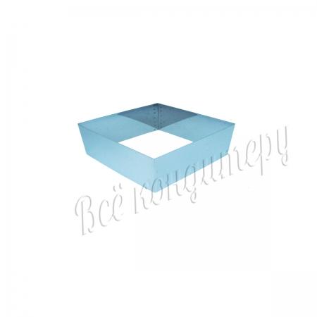 Форма для выпечки Квадрат 14х14 см, высота 10 см