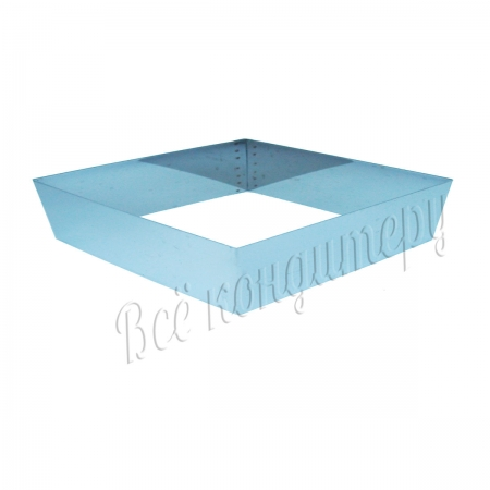 Форма для выпечки Квадрат 20х20 см, высота 10 см