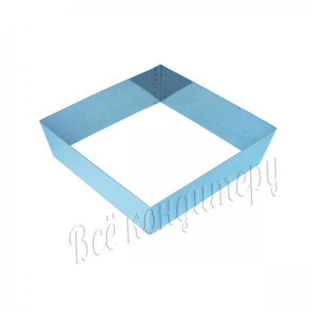 Форма для выпечки Квадрат 16х16 см, высота 7 см