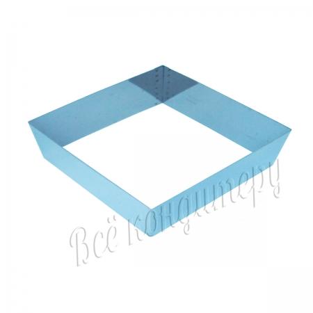 Форма для выпечки Квадрат 18х18 см, высота 7 см