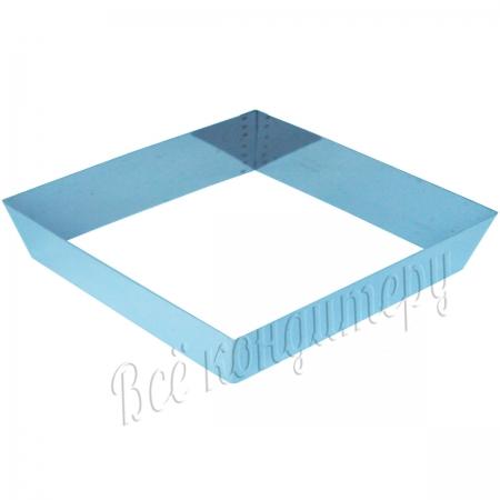 Форма для выпечки Квадрат 22х22 см, высота 7 см